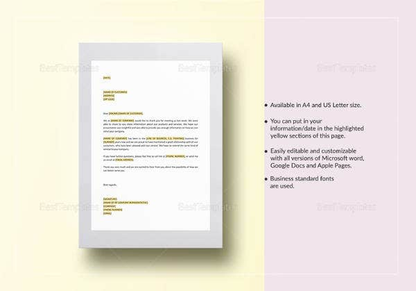 Editable-Follow-Up-Thank-You-Letter-Template Valued Customer Letter Template on prospective customer letter template, valued customer apology letter, thank you for your business template, valued customer appreciation letter,