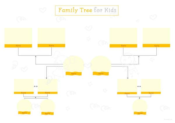 family tree template for kids1