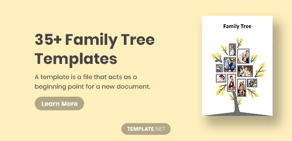 35+ Family Tree Templates - Word, PDF, PSD, Apple Pages