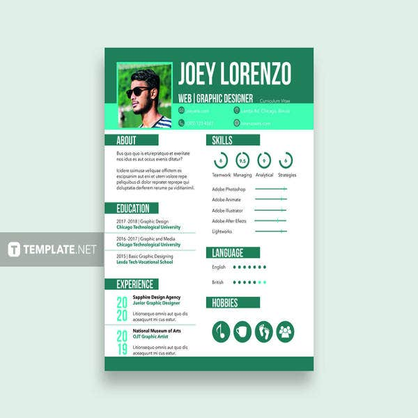 36 Sample Cv Templates Pdf Doc Free Amp Premium Templates