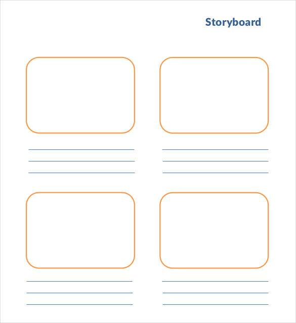 Storyboard Template 77 Free Word Pdf Ppt Psd Dinosauriensfo