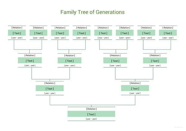 simple family tree template 27 free word excel pdf format