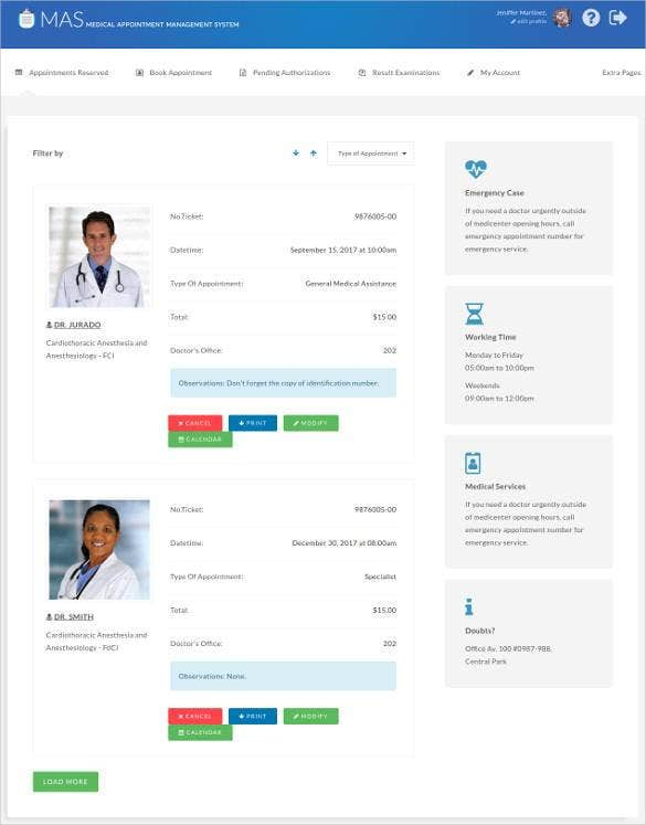 hospital-management-system-bootstrap-template