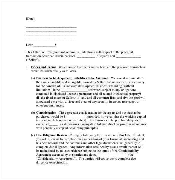 How to end a letter of intent vatozozdevelopment how spiritdancerdesigns Image collections