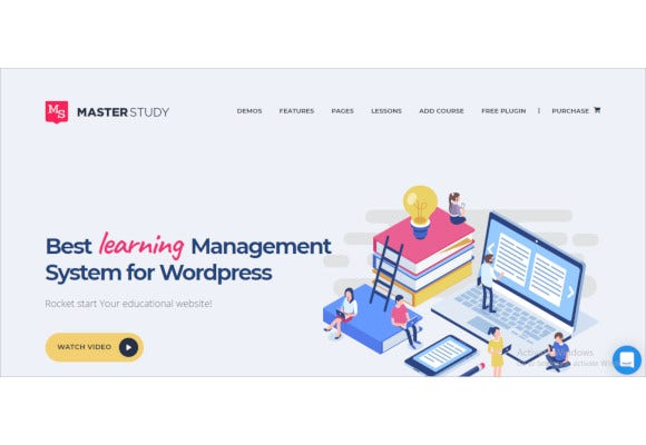 masterstudy education wordpress theme