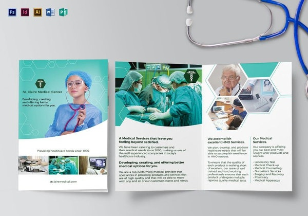 medical-bi-fold-brochure-template