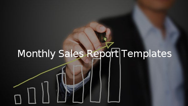monthly sales report template