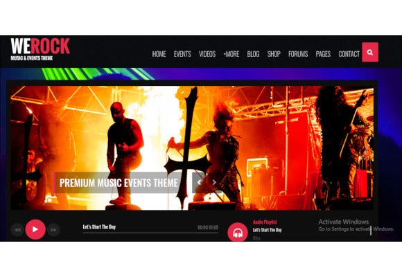multipurpose music event php template