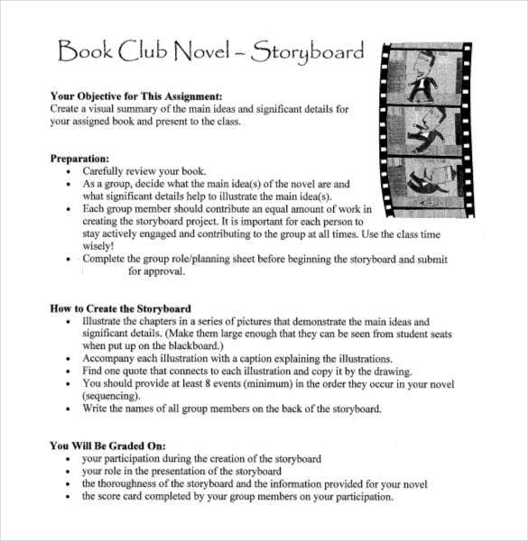 novel-storyboard-template