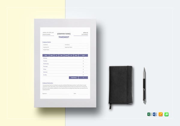 professional-timesheet-excel-template