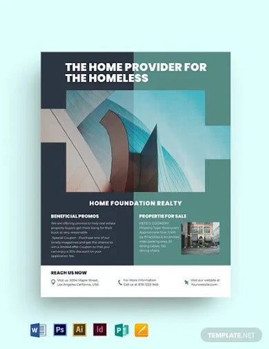 real estate investment group flyer template
