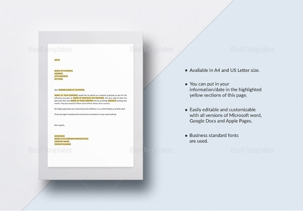 Reference Letter Template - 42+ Free Sample, Example Format | Free ...