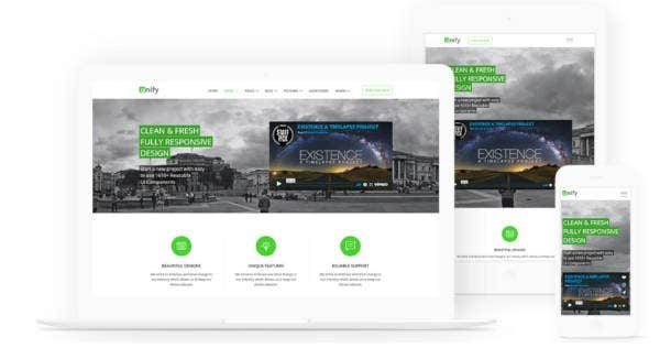 responsive inspire bootstrap website template
