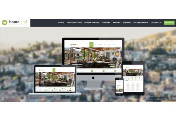 responsive real estate theme for wordpress