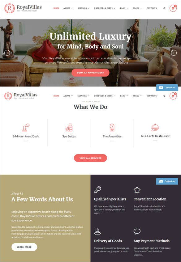 royal-villas-hotel-bootstrap-website-template