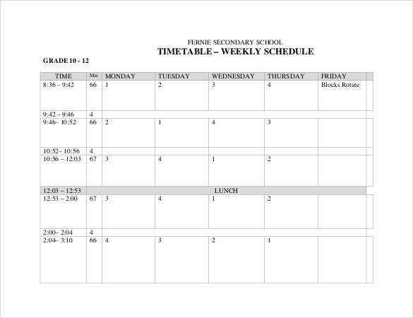 simple-secondary-school-timetable-weekly-schedule