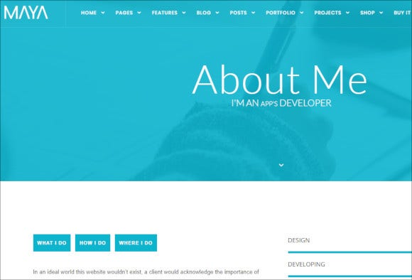 smart and powerful wordpress php website theme