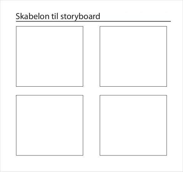 standard-skabelon-til-storyboard