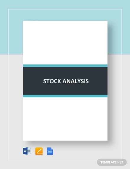 stock analysis template1