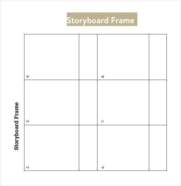 storyboard-frame-template