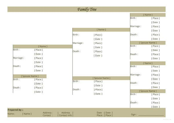 three-generation-family-tree-template