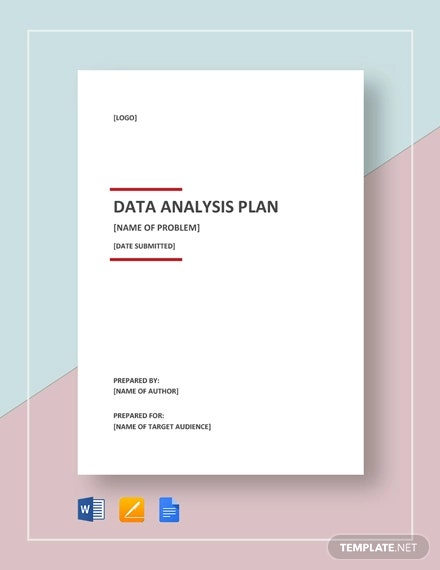 data analysis plan