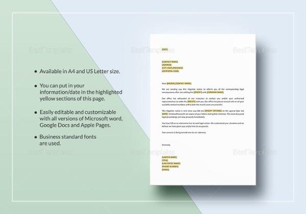 letter-notice-of-litigation