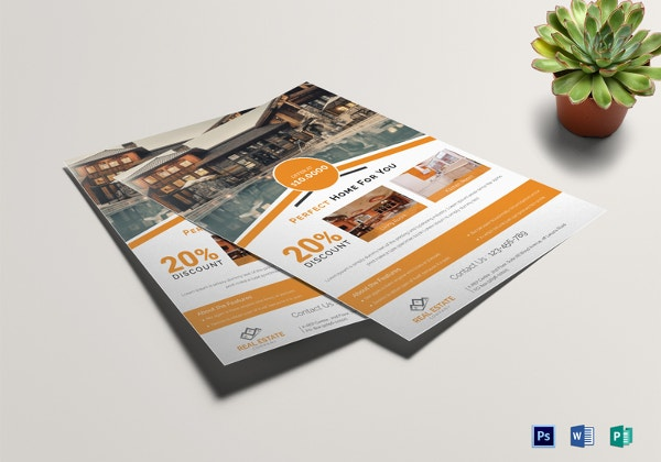 Free Download Real Estate Flyer Template In Microsoft Word - Free real estate brochure templates