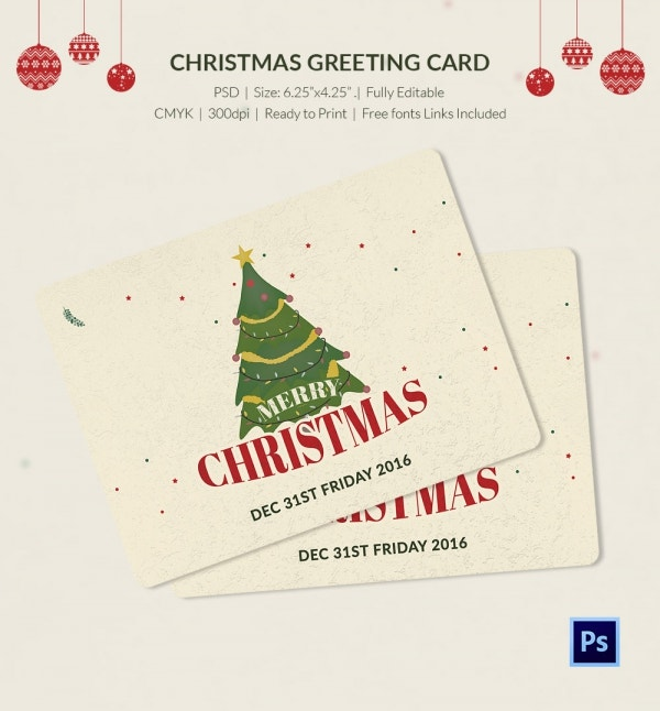 Christmas Greeting Cards & Gift Tags Free Download