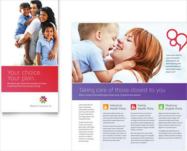 medical insurance brochure template