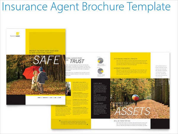 Insurance brochure 17 free free psd vector eps png for 11x17 half fold brochure template