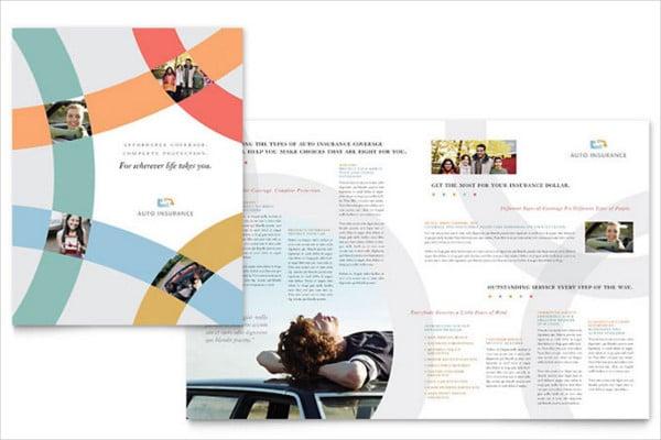 car insurance company brochure