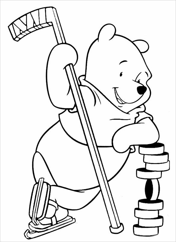 Hockey Coloring Pages Pdf : Hockey coloring pages free word pdf jpeg png