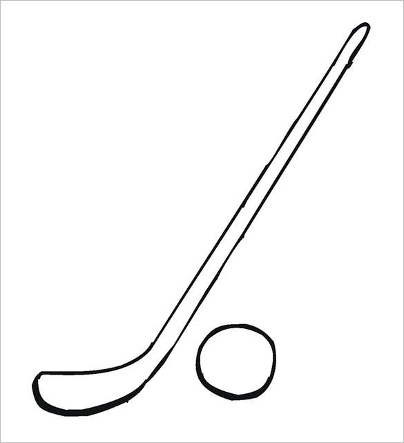 16 Hockey Coloring Pages Free Word Pdf Jpeg Png Format