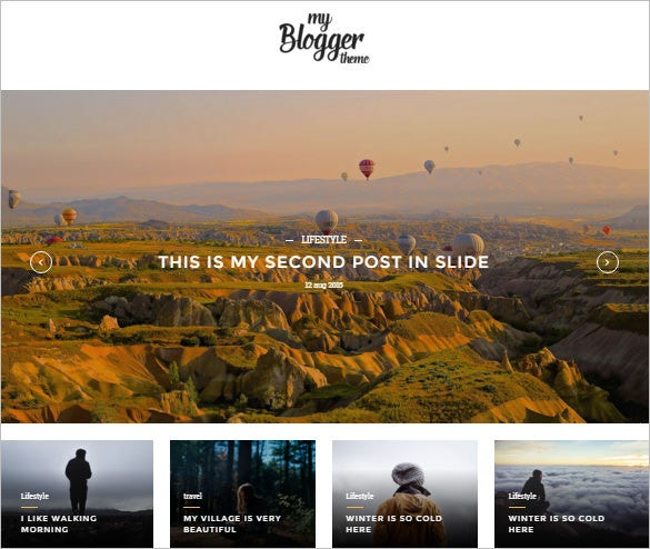 responsive wordpress blog theme