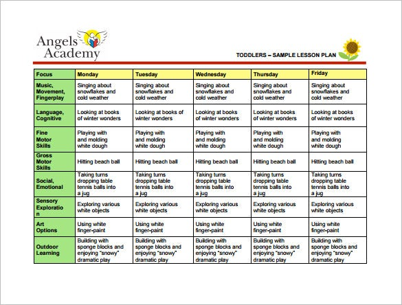 Music Lesson Plan DailyLessonPlanSheet Lesson Plan Template