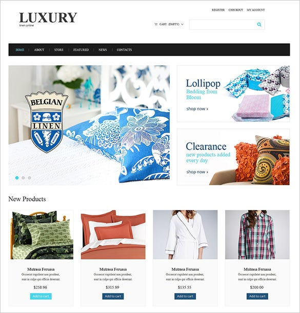 luxury home decor virtuemart theme