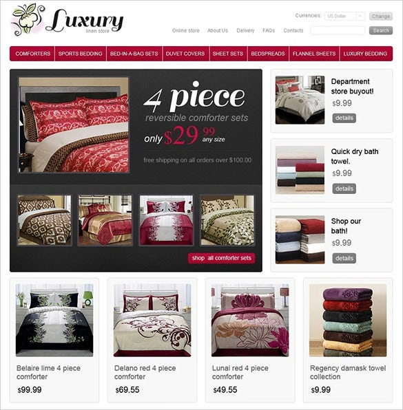 beautiful home decor virtuemart theme