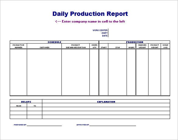 Production Scheduling Template - 22+ Free Word, Excel, PDF ...