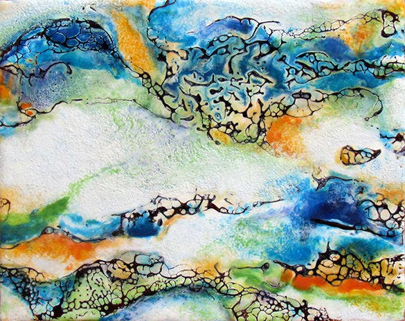 awesome encaustic painting download