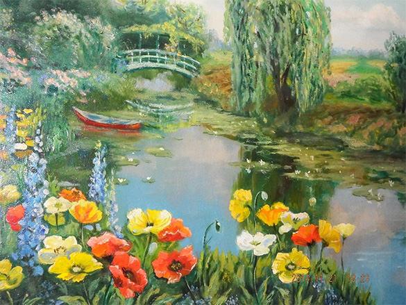 artistic encaustic painting