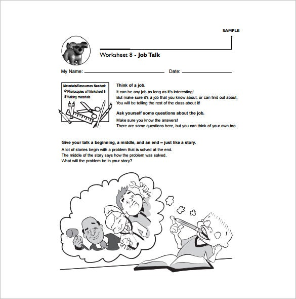 elementary school lesson plan free pdf template