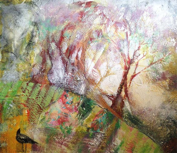 enchanted encaustic painting download