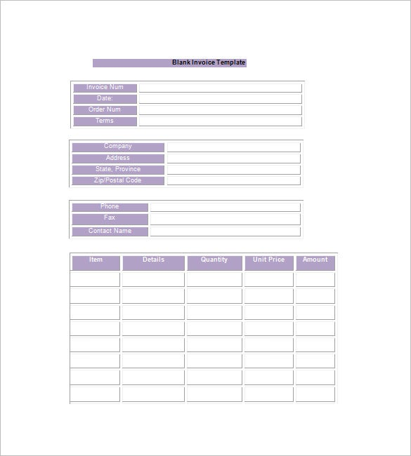 Google Invoice Template Example  Google Invoice Template