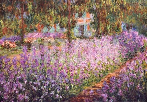 elegant flower painting