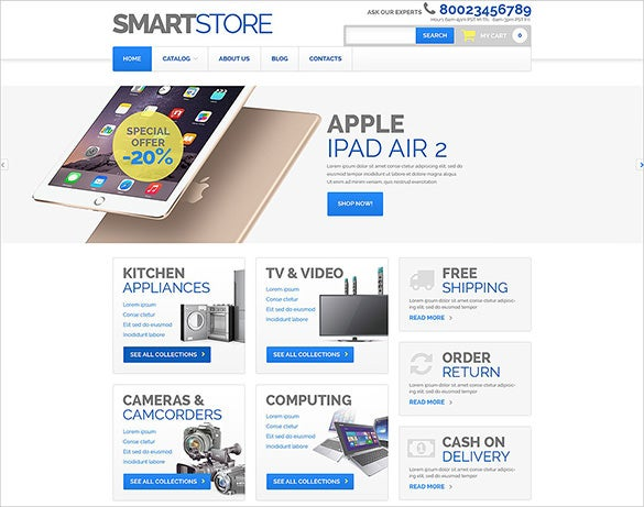 smart computer store virtuemart theme