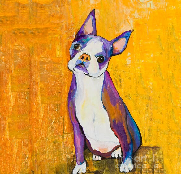 astonishing pet portrait painting
