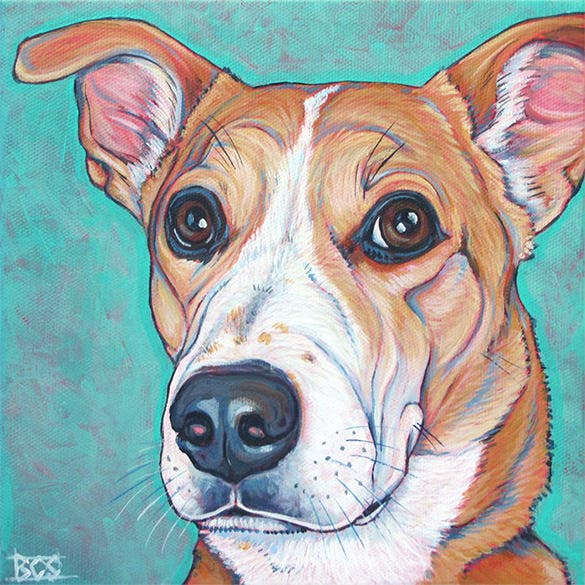 21+ Excellent Pet Portrait Paintings Download! | Free & Premium ...