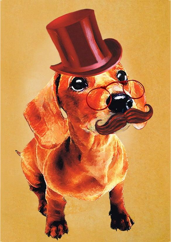 glorious pet portrait painting