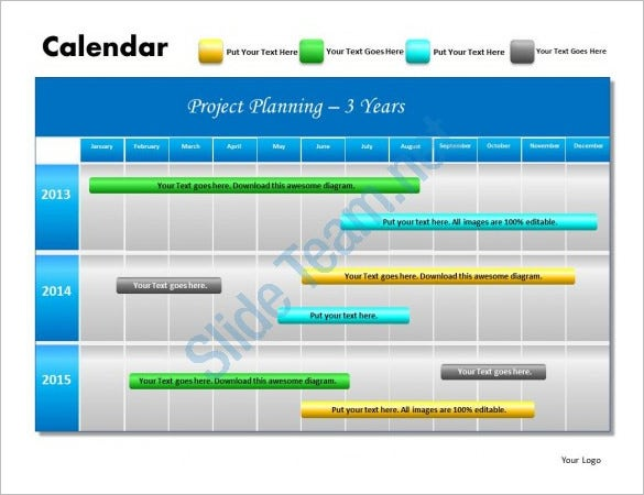 powerpoint schedule template 8 free word excel ppt format